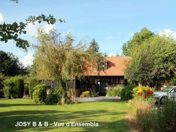 Chambres d' Hôtes JOSY B & B Amiens Flesselles Picardie